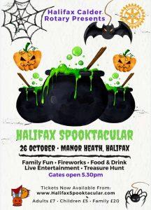 HALIFAX SPOOKTACULAR @ Manor Heath Park