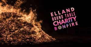 ELLAND ROUND TABLE CHARITY BONFIRE @ HULLEN EDGE RECREATION GROUND | England | United Kingdom